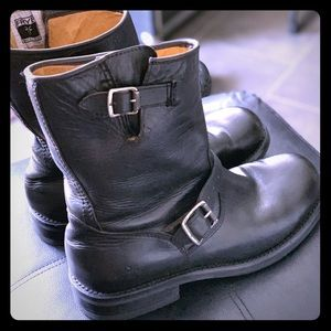 Frye Sutton Engineer Boots 9D